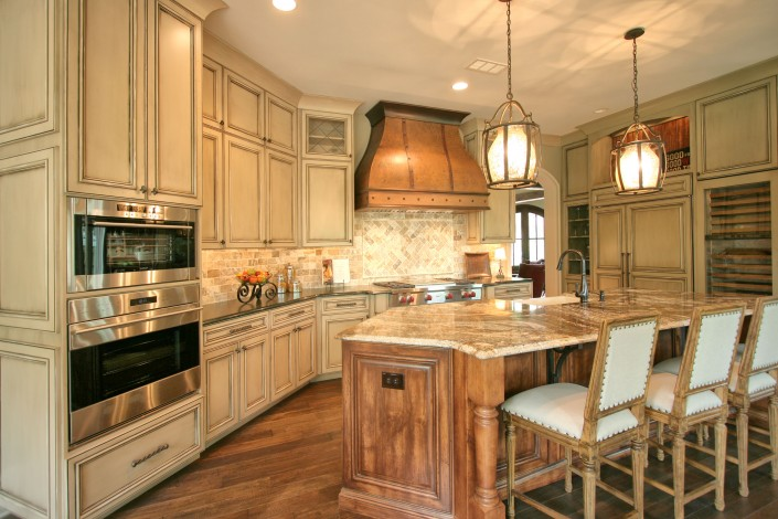custom kitchen cabinets,kitchen design ideas, custom cabinets, home of distinction, copper hood