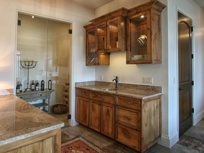custom cabinets, wet bar design ideas