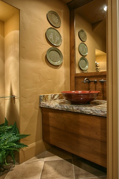custom cabinets, powder room design ideas